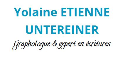 Yolaine Etienne Untereiner - Expert écritures et graphologue Vaucluse